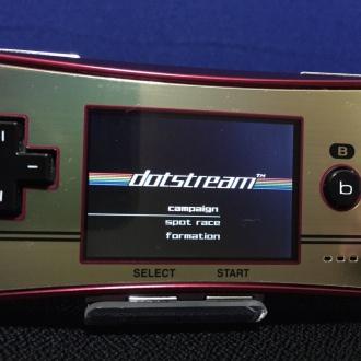 dotstreamタイトル画面
