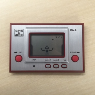 ゲーム&ウオッチ ボール 復刻版 外観