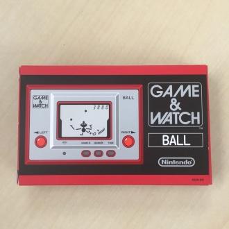 ゲーム&ウオッチ ボール 復刻版 外箱 表面