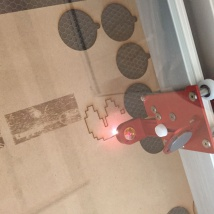 レーザーカット工程2