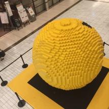 LEGOパックマン斜め上から