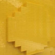 LEGOパックマン背面