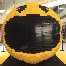LEGOパックマン正面