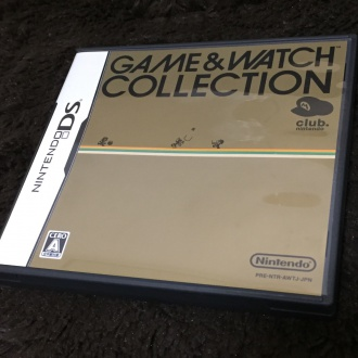 「GAME&WATCH COLLECTION」パッケージ