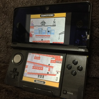 「GAME&WATCH COLLECTION」プレイ画面