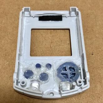 ビジュアルメモリ 筐体内部加工 前面