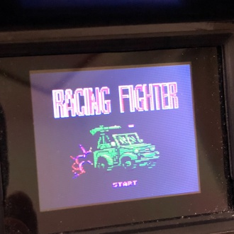 RACING FIGHTER タイトル画面