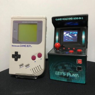 GAME MACHINE 108 IN 1 とゲームボーイ